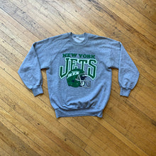Load image into Gallery viewer, NY Jets Helmet Crewneck