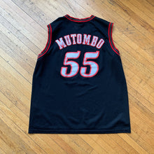 Load image into Gallery viewer, NBA 76ers Mutombo Jersey