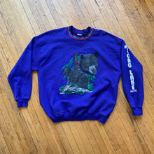 Load image into Gallery viewer, Gopher Sport Black Bear Crewneck