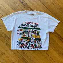 Load image into Gallery viewer, I Survived Hong Kong Tourist Cropped T-Shirt