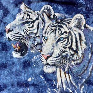 White Tigers Crystal Wash T-Shirt