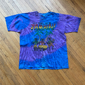 We Be Jammin Jamaica Tie Dye T-Shirt