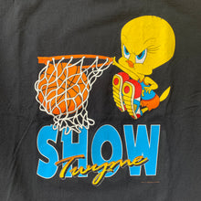 "Load image into Gallery viewer, Tweetie Bird ""Show Twyme"" Dunk T-Shirt"