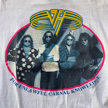 Load image into Gallery viewer, Van Halen 1991 For Unlawful Carnal Knowledge T-Shirt