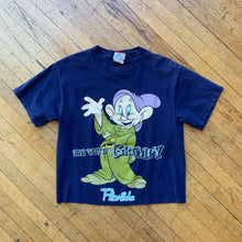 "Load image into Gallery viewer, Dopey Dwarf ""I'm With Grumpy"" Cropped T-Shirt"