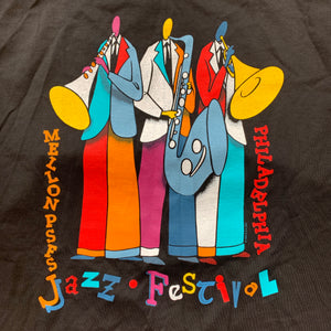 Philadelphia 1995 Jazz Festival Players Single Stitch T-Shirt