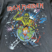 Load image into Gallery viewer, Iron Maiden 1983 World Piece Tour Long Sleeve T-Shirt