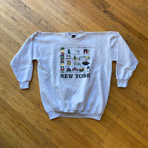 NYC Experience Time Square Tourist Crewneck