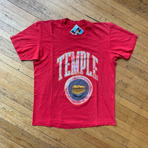 Temple University Single Stitch T-Shirt