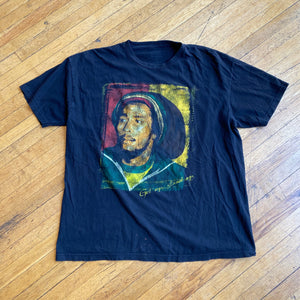 Bob Marley Portrait Get Up Stand Up T-Shirt