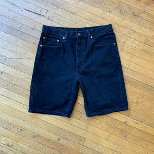 Levi's 505 Washed Denim Shorts