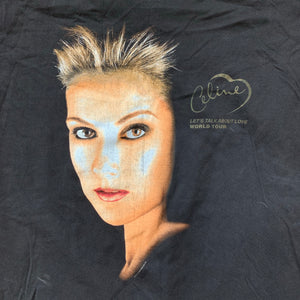 "Celine Dion 1998 ""Lets Talk About Love"" Tour T-Shirt"