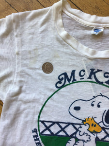 Snoopy & Woodstock McKEE T-Shirt