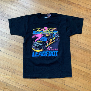 Rusty Wallace Leadfoot Single Stitch T-Shirt