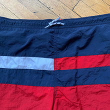 Load image into Gallery viewer, Tommy Hilfiger Color Block Flag Swim Trunks