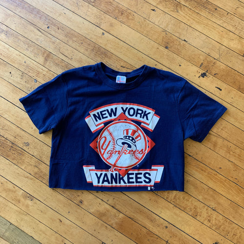 NY Yankees Cropped T-Shirt