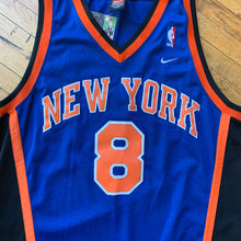 Load image into Gallery viewer, Nike New York Knicks Sewn Sprewell Jersey