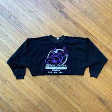 Load image into Gallery viewer, Wild Wear Puff Print Logo Cropped Crewneck