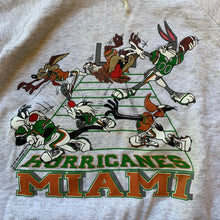 Load image into Gallery viewer, Looney Toons Miami Hurricanes Hoodie