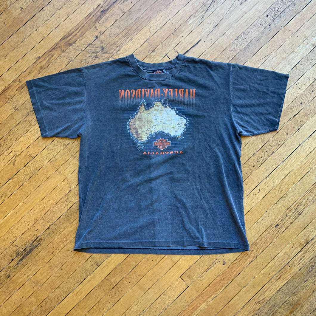 Harley Davidson Australia Single Stitch T-Shirt