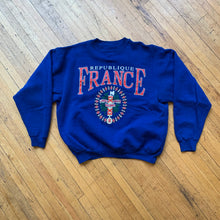 Load image into Gallery viewer, Republique France Crest Crewneck