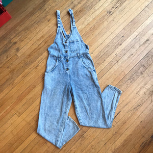 Lee Acid Wash Double Ring Overalls