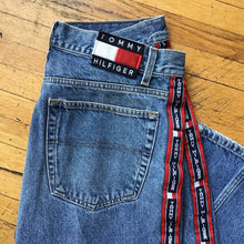 Load image into Gallery viewer, Tommy Jeans Side Stripe Washed Denim Jeans