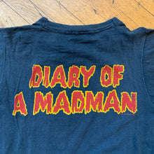Load image into Gallery viewer, Ozzy Osbourne 1981 Diary Of A Madman Single Stitch T-Shirt