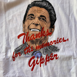 "Ronald Reagan 1993 ""Thanks for the memories, Gipper"" T-Shirt"