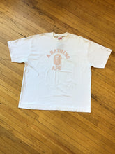Load image into Gallery viewer, CONSIGN TG 12 : BAPE PATTERN COLLEGE T-SHIRT
