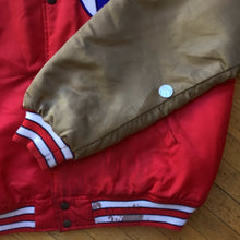 Load image into Gallery viewer, Fila Satin Bomber Jacket