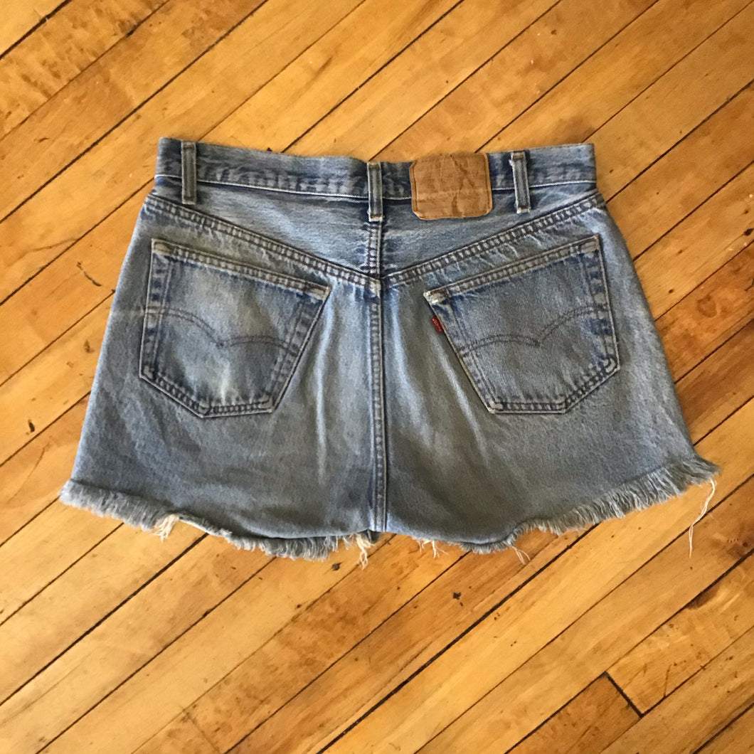 Levi's Made in USA Denim Cutoff Shorts