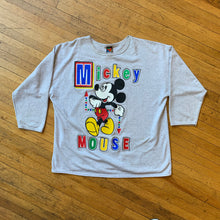Load image into Gallery viewer, Mickey Mouse Oversized Heavyweight LongsleeveT-Shirt