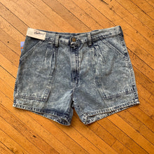 Load image into Gallery viewer, Markings Sonic Washed Denim Shorts