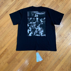 Off-White SS20 Oversized Caravaggio Square T-Shirt
