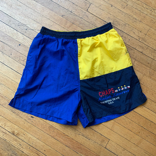 Chaps RL Color Block Swim Trunks