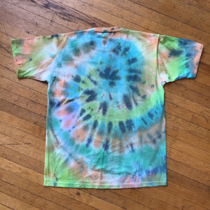 18th World Jamboree Globe Single Stitch Tye-Dye T-Shirt