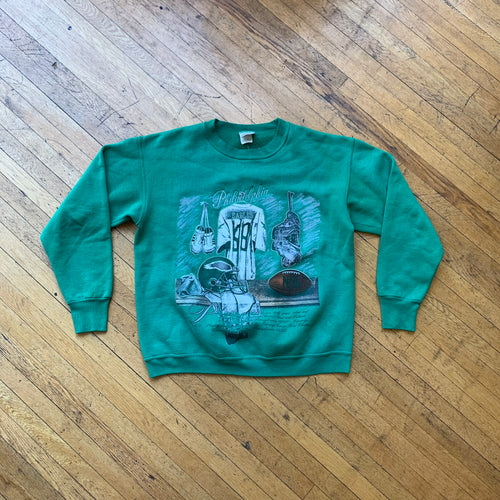 Nutmeg Philly Eagles Lockeroom Crewneck