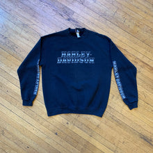 Load image into Gallery viewer, Harley Davidson Metallic Typeface Crewneck