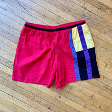 Load image into Gallery viewer, Castaways Color Block Swim Trunks