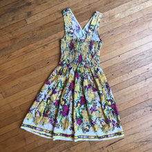 Load image into Gallery viewer, Floral Crossover Sun Dress