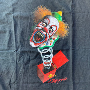 Coulrophobia Jack-in-the-Box Clown T-Shirt