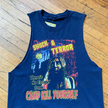 Load image into Gallery viewer, Cky Shock & Terror Cut Off T-Shirt