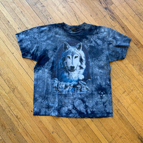 Pack Of Wolves Tie-Dye T-Shirt