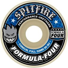 Spitfire Formula Four 99a 52mm Conical Full Wheels