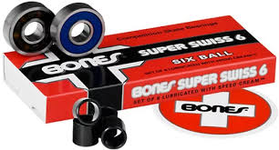 Bones Super Swiss 6 Ball Bearing Set