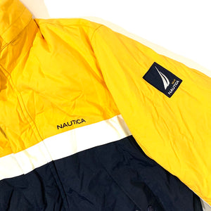 Nautica NWT Color Blocked Reversible Down Jacket