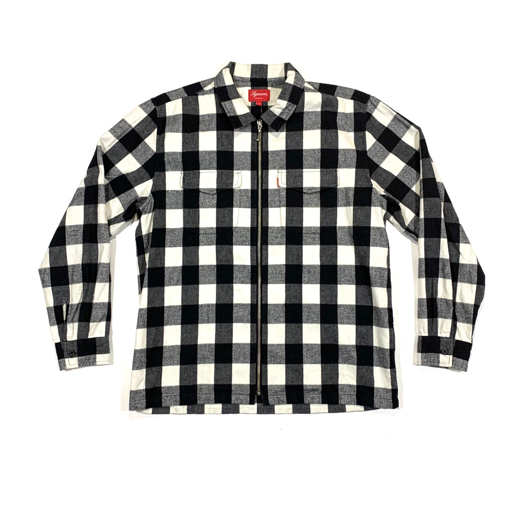 CONSIGN JDS 7: Supreme Buffalo Full-Zip Flannel
