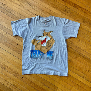 Trust Me Wolf Single Stitch T-Shirt
