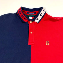 Load image into Gallery viewer, Tommy Hilfiger Split Color Polo